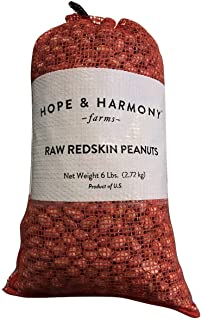 Royal Oak Virginia Raw Out Of The Shell Peanuts, 6 Pound Bags (Pack of 2)