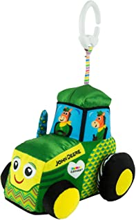 Lamaze John Deere Clip and Go, Tractor Clip On Toy, Multi