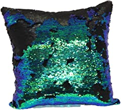 Brentwood Originals 2620 Mermaid 18 Decorative Pillow, Green/Blue