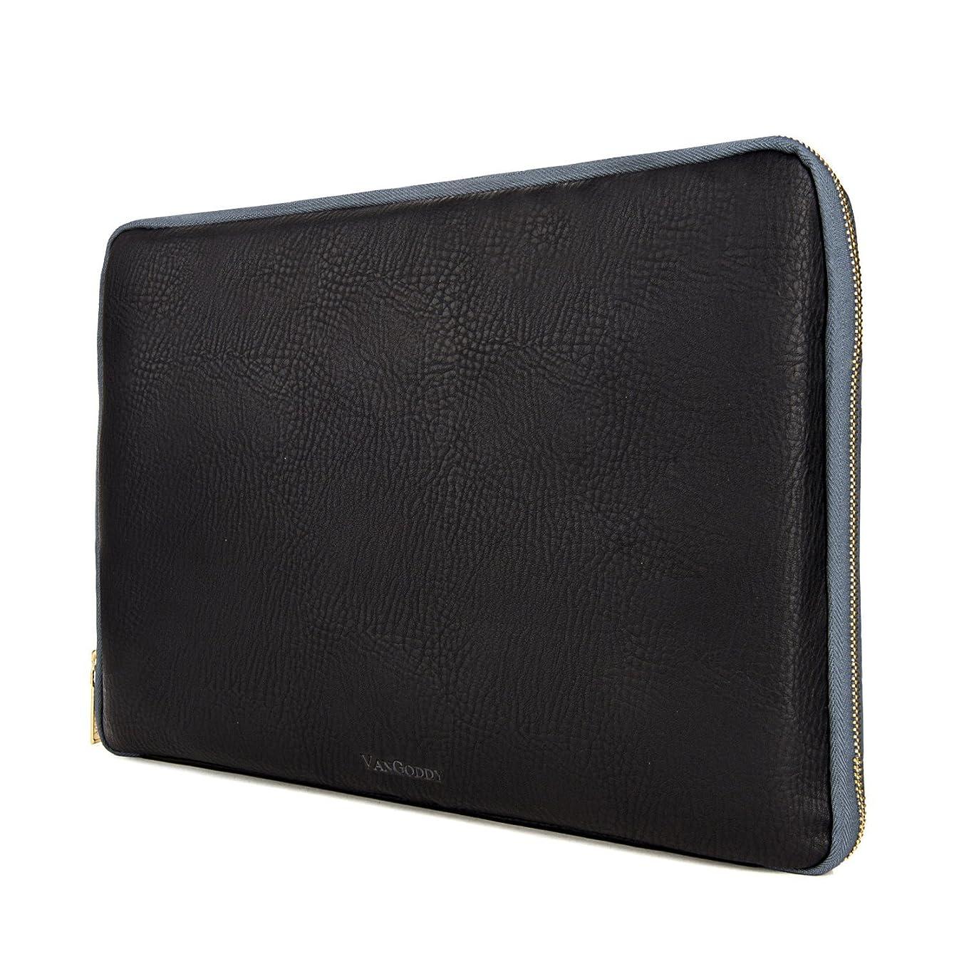 Irista Leatherette Carrying Sleeve for HP Pavilion & Envy 15.6 inch Laptops (Black - Dark Slate)