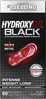 Muscletech Products - Hydroxycut Black Intense Weight-Loss 60 Liquid Capsules 156497