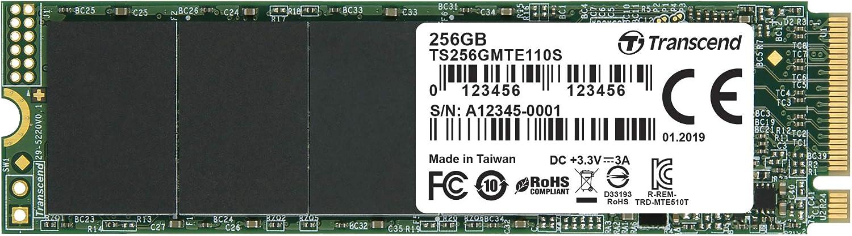 Selling Transcend 256GB Nvme PCIe Gen3 X4 MTE110S Solid Dr State Sale SALE% OFF SSD M.2