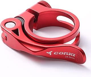 corki Quick Release Bicycle Seatpost Clamp Sandblasting...