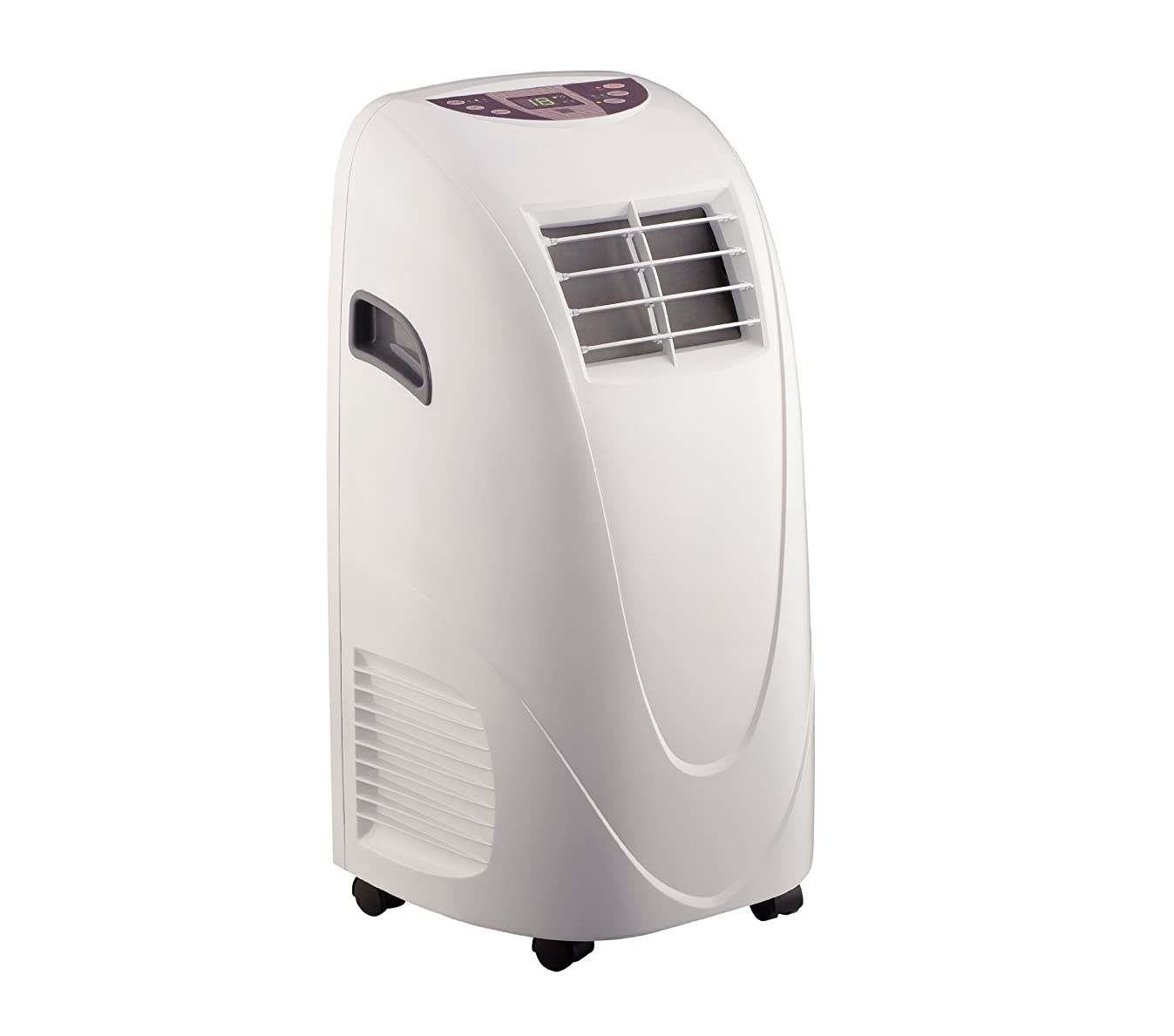 Global Air 10,000 BTU Portable Air Conditioner Cooling /Fan with Remote Control in White