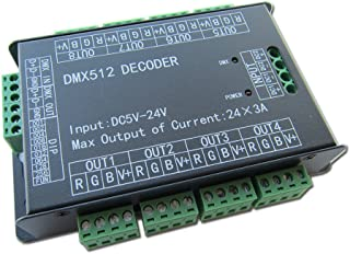 4 channel dmx led driver
