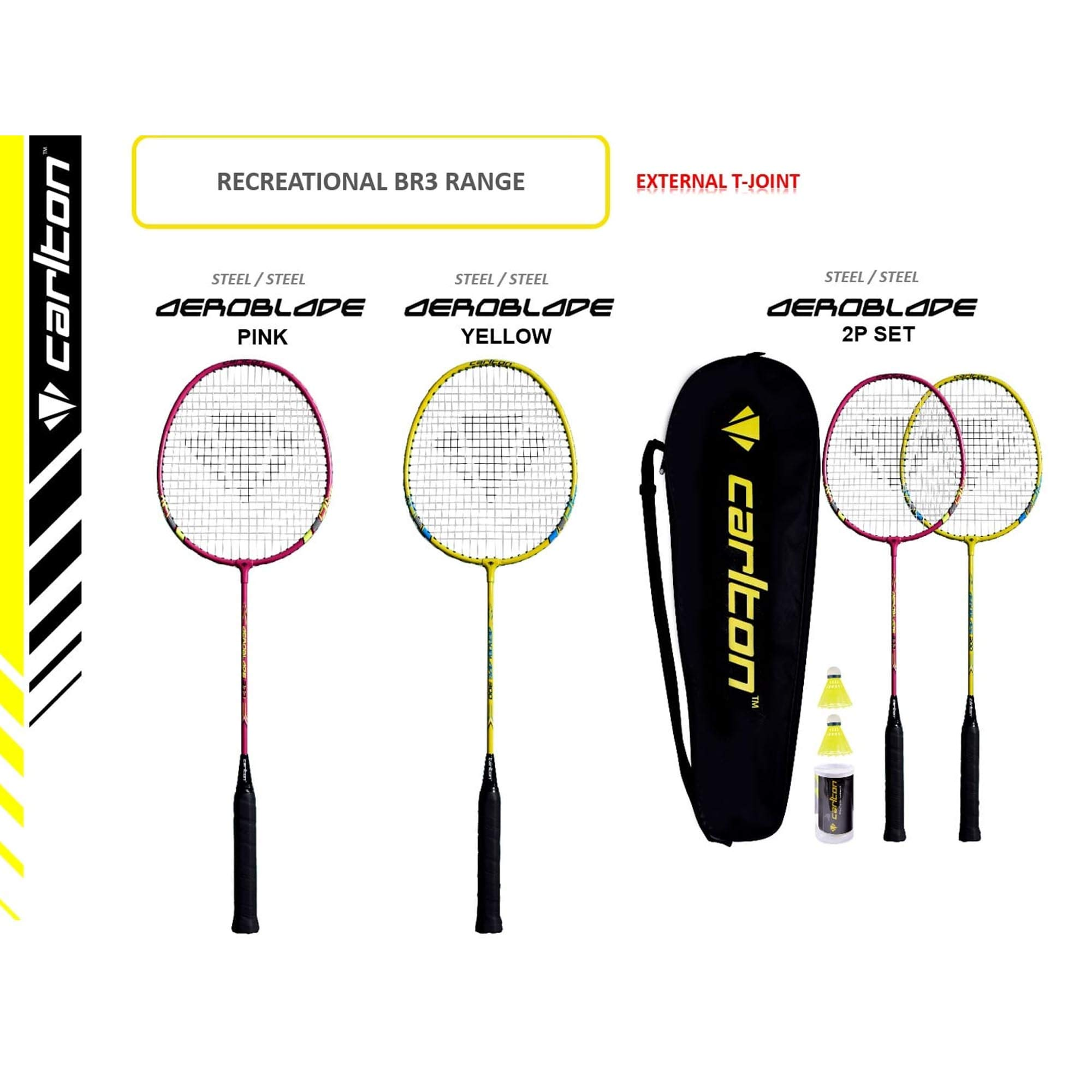 One size Dunlop Badmintonball Carlton F1 TI Gr/ün