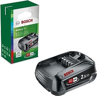 Bosch Home and Garden Zelf Verwisselbare Accu PBA 18 V (Lithium-Ion, 2,5 Ah, Compatibel met alle apparaten met het Bosch H...