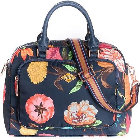 Oilily Winter Bouquet S Handbag Navy Night