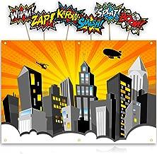 Best superhero cityscape backdrop Reviews