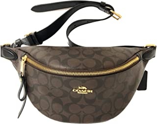 COACH Women's Polished Pebble Belt Bag
