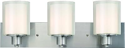 Quoizel Kolt Bath Light 3 Light KLT8603BNLED Brushed Nickel