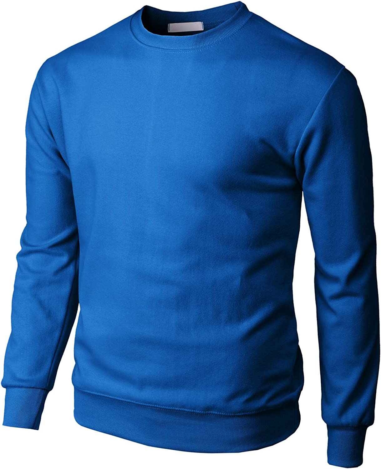 H2H Mens Casual Slim Fit Pullover Sweaters Knitted Tops Lightweight Longsleeve Basic Designed