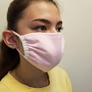 Pink Cotton - Facemask - Washable and Reusable