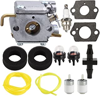 Harbot 753-04333 Carburetor with Air Filter Fuel Line Filter Connector for MTD Ryobi 280 280r 310BVR RGBV3100 Blower 410r Tiller 600r 700r 704r 705r 720r 725r 765r 766r 767r 775r 790r Trimmer