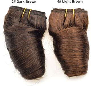 Black Friday Deals 2019 Bob Peruvian Loose Wave 4 Bundles 200g Wholesale Lots 12 Color Ombre Weave Spring Curly Wet And Wavy Human Hair Extensions (4# Light Brown)