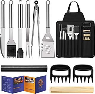 """Veken BBQ Grill Accessories, Grill Utensils Set, 16"""" Stainless Steel BBQ Tools Set for Men & Women Grilling Accessories wi..."""