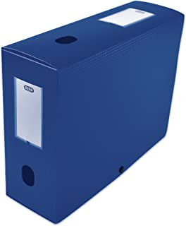Elba 400094575 Boîte de classement à monter dos 100 mm polypropylène opaque 24 x 32 cm Bleu