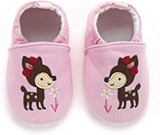 Cute Baby Shoes Newborn First Walking Infant Slippers Bebe Zapatos 0-18 Months