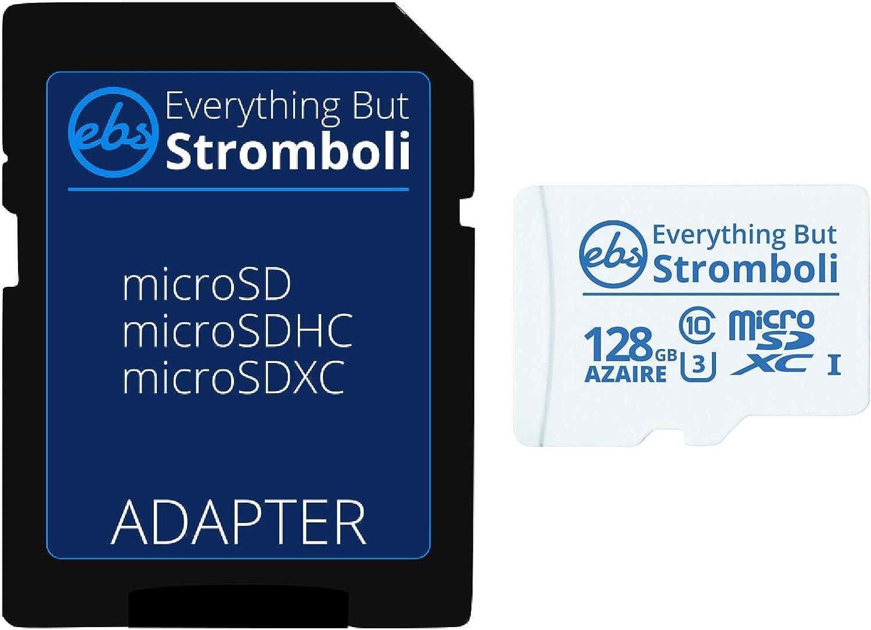 Everything But Stromboli Azaire 128GB MicroSD Card for Motorola Phones Works with Moto E (2020), Moto E7, Moto G Power, Edge+ Cell Phone Speed Class 10 U3 UHS-1 Micro SDXC Card