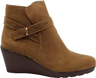 حذاء نسائي من Naturalizer، حذاء Jill مغلق من ناحية الأصابع، لون الكراميل، مقاس 9. 5