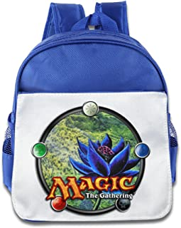 XJBD Custom Funny Magic The Gathering Teenager Shoulders Bag For 1-6 Years Old RoyalBlue