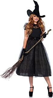 Leg Avenue Women's Classic Darling Spellcaster Witch Halloween Costume
