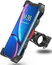 "Bovon Soporte Movil Bicicleta, Anti Vibración Soporte Movil Bici Montaña con 360° Rotación para Moto Cochecito, Universal Manillar para iPhone X XS Max XR 8 Plus 7 6s Samsung y 3.5""-6.5"" Smartphones"