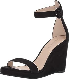 Women's Darling Platform Sandal,Latte Snake,9 M US