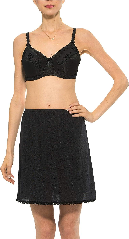 Gemsli Women's Non-Cling Nylon sold out Half Slip 2X Length 28