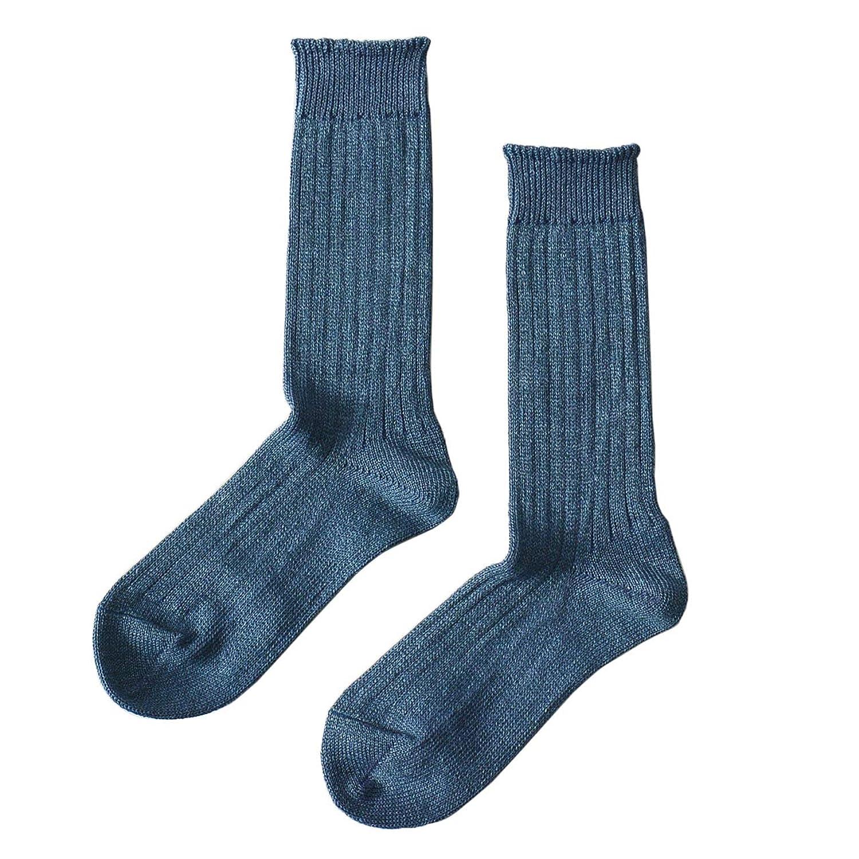 [ロトト] RoToTo LINEN COTTON RIB SOCKS リネンコットン リブソックス 靴下?r1010 ユニセックス