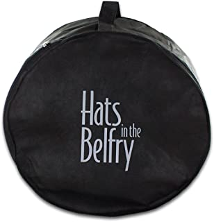 Belfry Hat Box - Crushable Collapsible Easy Travel Protective Hat Bag Case