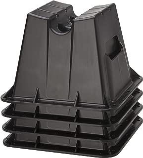 Attwood Corporation 11401-4 Pontoon Winter Storage Block, Set of 4 (Renewed)