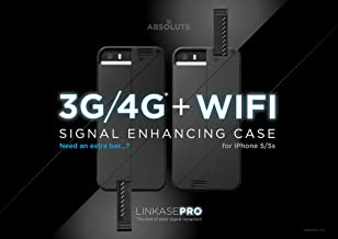 LINKASE PRO - 3G/ LTE + WiFi Signal Enhancing Case for iPhone 5S/ iPhone 5 for T-Mobile and all LTE provide in Canada and Mexico (Midnight Blue)