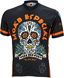 World Jerseys Moab Brewery Especial Cycling Jersey by Men's Short Sleeve