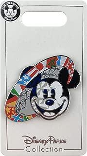 Disney Trading Pin - Epcot World Showcase Flags - Mickey