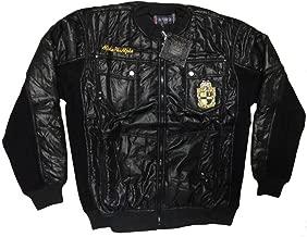 Alpha Phi Alpha Divine Nine Mens Fraternity Plush Jacket - Black