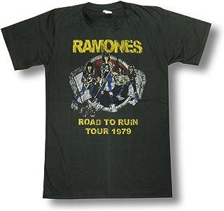 ラモーンズ/RAMONES/ロード・トゥ・ルーイン/Road To Ruin/ロックTシャツ/バンドTシャツ...