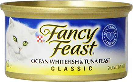 Purina Fancy Feast Classic Feast Wet Cat Food - (24) 3 oz. Cans