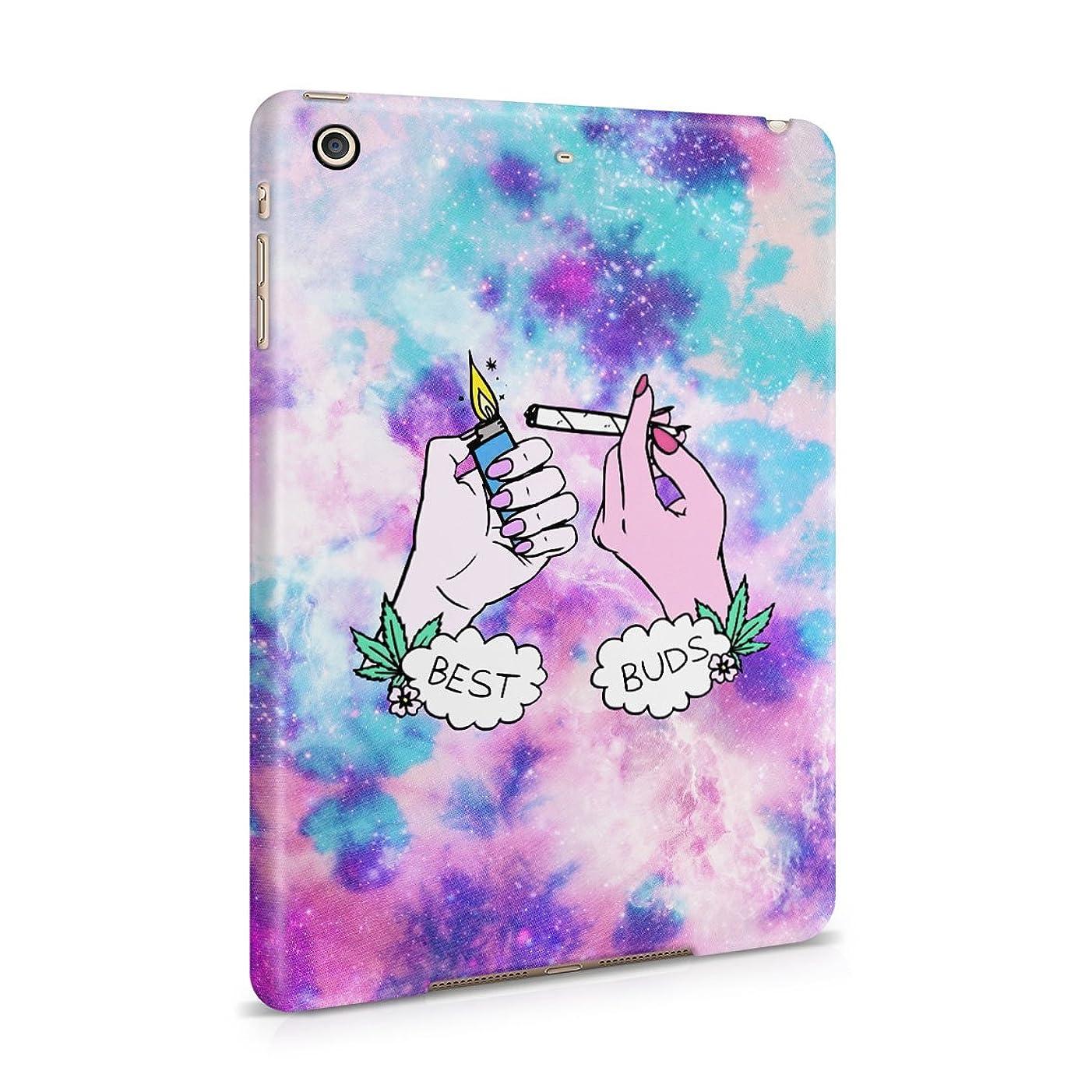 Best Buds Lighting Blunt Trippy Acid Space Hard Plastic Tablet Case For iPad Mini 2 & 3