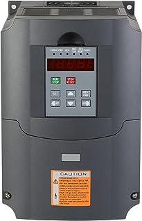 Mophorn 220V 4KW VFD Variable Frequency Drive CNC VFD Motor Drive Inverter Converter for CNC Router Milling Machine Spindle Motor Speed Control (220V2/4KW VFD)