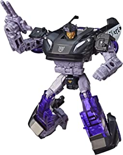 Transformers Toys Generations War for Cybertron Deluxe Wfc-S41 Barricade Figure - Siege Chapter - Adults & Kids Ages 8 & Up, 5