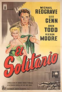 The Green Scarf 1954 Argentine Poster