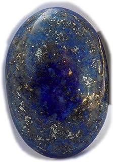 The Best Jewellery Lapis Lazuli cabochon, 47Ct Lapis Lazuli Gemstone, Oval Shape Cabochon For Jewelry Making (30x20x8mm) S...