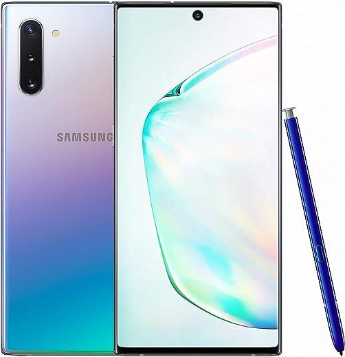 Samsung Galaxy Note 10 (Aura Glow, 8GB RAM, 256GB Storage) with No Cost EMI/Additional Exchange Offers