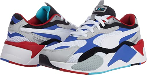 Puma White/Dazzling Blue/High-Rise