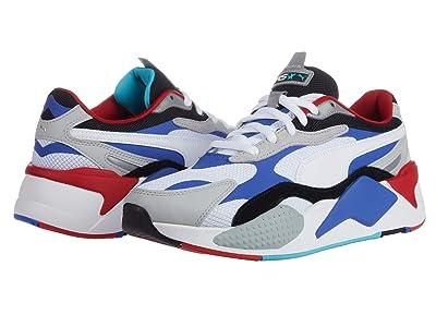 PUMA RS-X3 Puzzle (Puma White/Dazzling Blue/High-Rise) Men