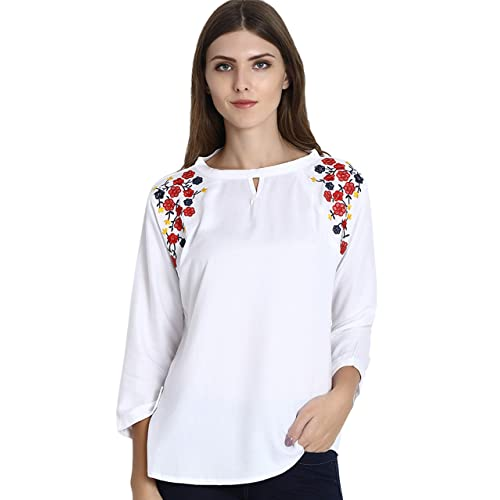 4774816048 Women's White Tops: Buy Women's White Tops Online at Best Prices in ...