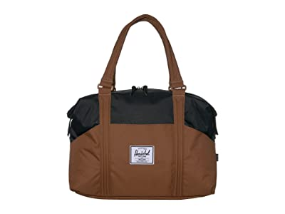 Herschel Supply Co. Strand (Saddle Brown/Black) Duffel Bags