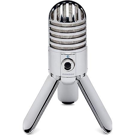 Samson Meteor Mic USB Studio Condenser Microphone (Chrome)