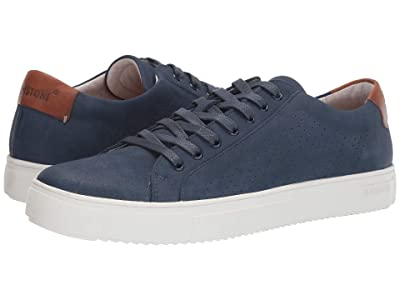 Blackstone Low Sneaker Perf PM63 (Dark Denim) Men
